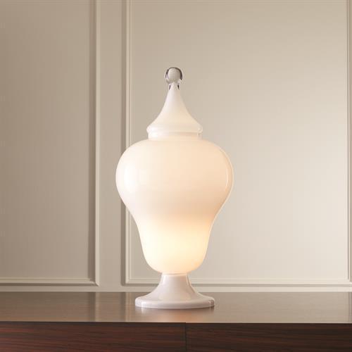Lighted Bombe Urn
