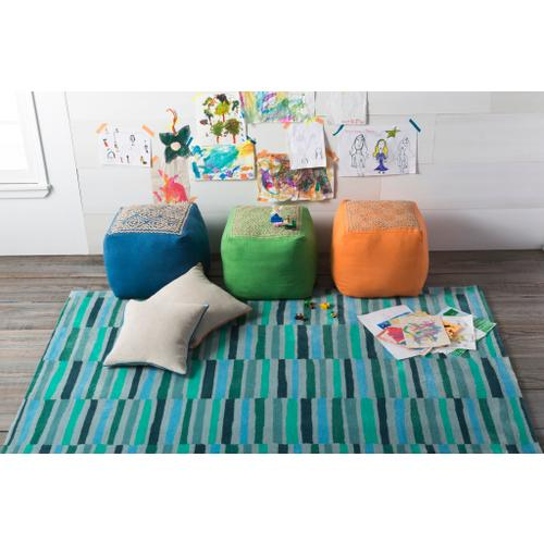 """Surya - Linen Piped LP-001 18""""H x 18""""W"""