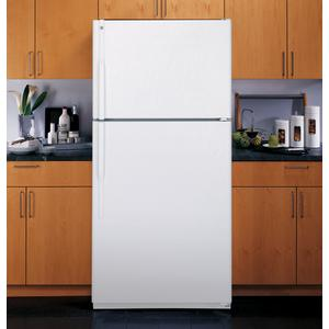 GE® 18.0 Cu. Ft. Top-Freezer Refrigerator