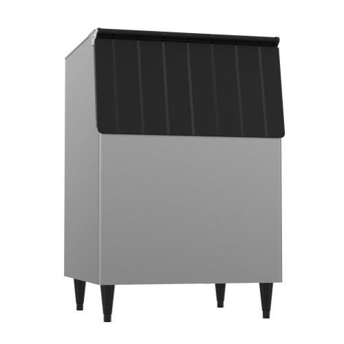 "BD-500PF, 30"" W Ice Storage Bin with 500 lbs Capacity - Vinyl-Clad Exterior"