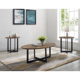 Colton 3-Pack Set (Pack Includes Cocktail & 2 End Tables)