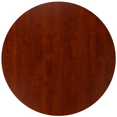 """Gallery - 36"""" Round Multi-Purpose Conference Table in Cherry"""