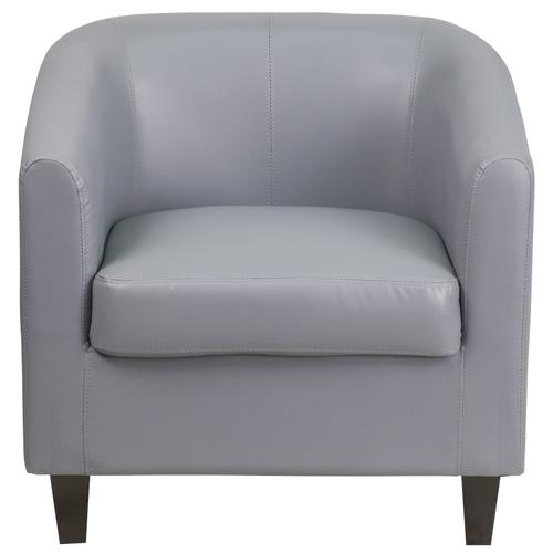 Gallery - Gray LeatherSoft Lounge Chair