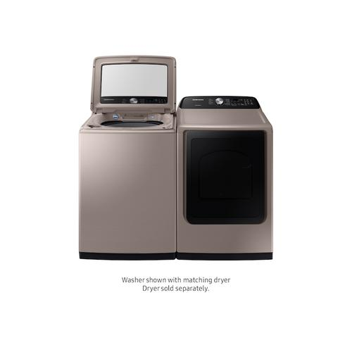 5.0 cu. ft. Top Load Washer with Active Water Jet in Champagne