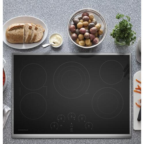 """Gallery - Monogram 30"""" Touch Control Electric Cooktop"""