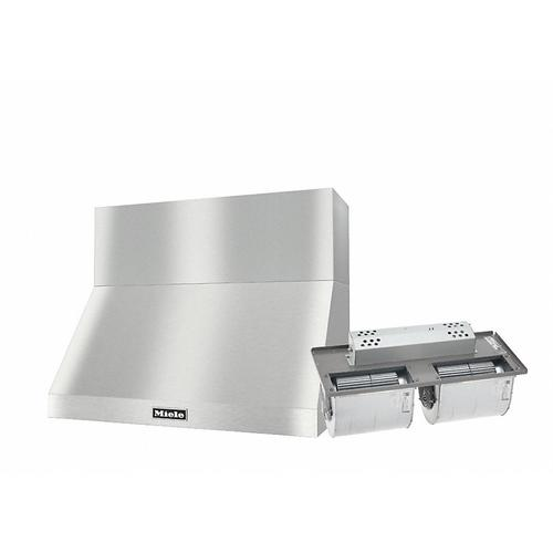 "DAR 1230 Set 15 Wall-Mounted Range Hood with Extraction Mode with integrated XXL motor including 12"" chimney cover."