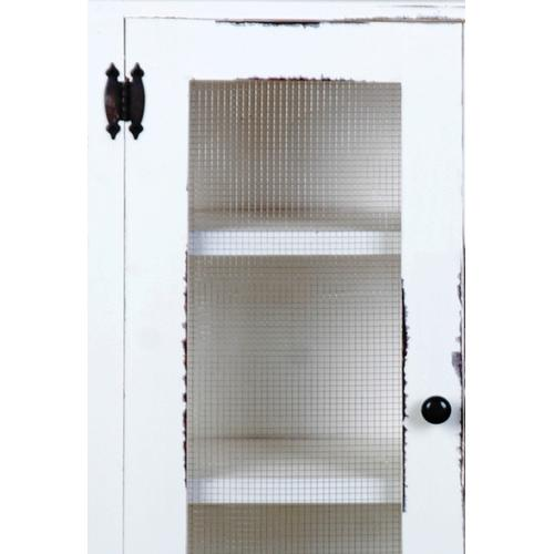 Country Cabinet w/Wire Doors