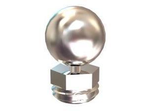 Finial Pair Polished Nickel Product Image