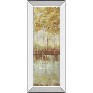 """Reflections I"" By Allison Pearce Mirror Framed Print Wall Art"