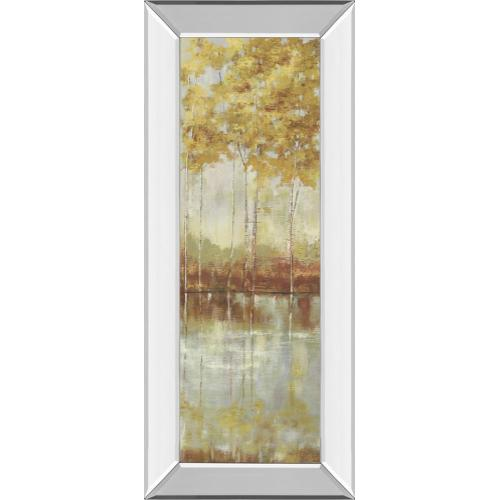 """""""Reflections I"""" By Allison Pearce Mirror Framed Print Wall Art"""