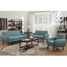 View Product - Daphne Teal Sofa & Chair, SWU6918