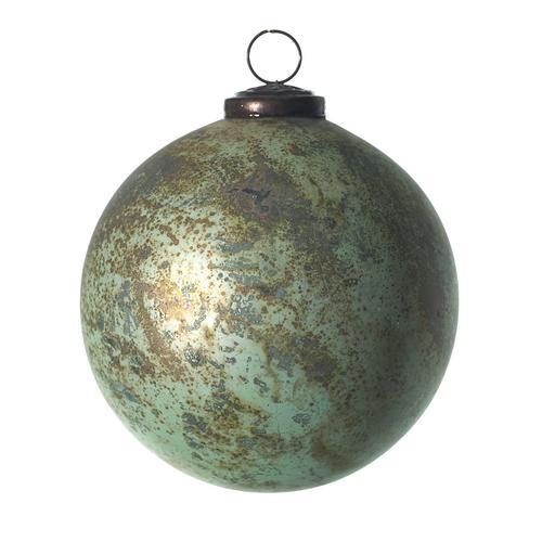 Accent Decor - Eternal Ornament (Size:4.75'', Color:Turquoise)