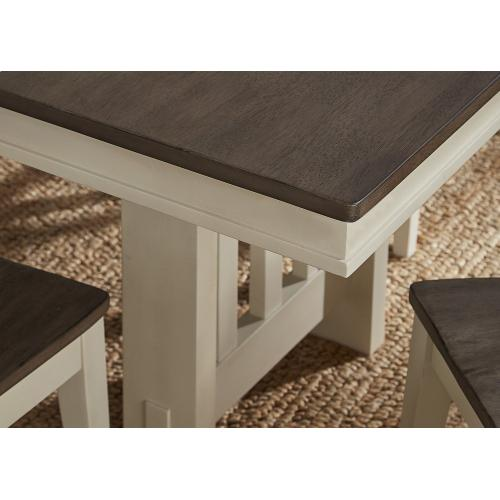 A America - Gather Height Trestle Table