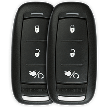 One-Way Remote Start and Keyless Entry System with Up to 1,000 feet Operating Range