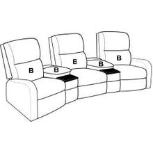 See Details - ONE ARM THEATER RECLINER