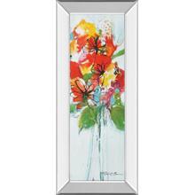 """Sensations I"" By Natasha Barnes Mirror Framed Print Wall Art"