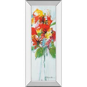 "Classy Art - ""Sensations I"" By Natasha Barnes Mirror Framed Print Wall Art"