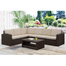 7 Piece Outdoor Sectional Set