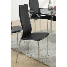 Malina Dining Chair, Black