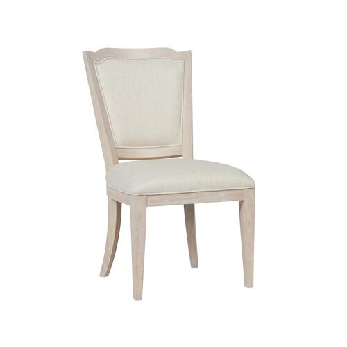 Getaway Upholstered Back Side Chair