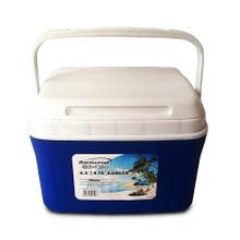 See Details - Brentwood Kool Zone CB-450LS 4.75 Quart Cooler Box with Handle, Blue