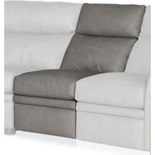 See Details - Bradington Young Reece Armless Chair Full Recline w/Articulating Headrest - Two Pc Back 202-33-2