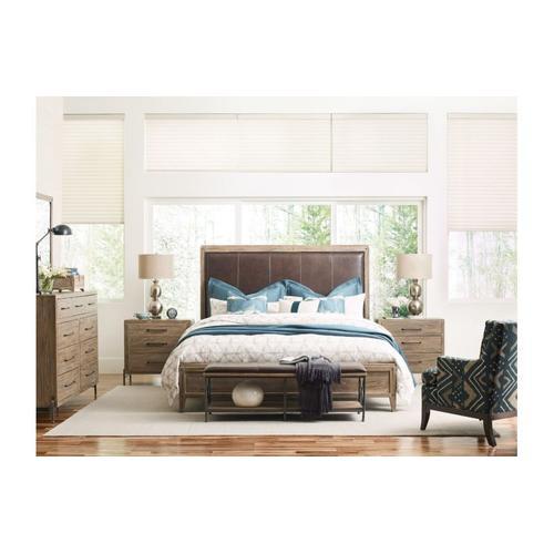 Longview Upholstered Queen Bed - Complete
