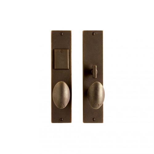 """Rocky Mountain Hardware - Metro Entry Set - 2 1/4"""" x 10"""" Silicon Bronze Rust"""