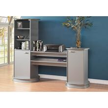 View Product - BOOKCASE - GREY / STORAGE UNIT