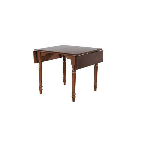 Drop Leaf Dining Table - Chestnut