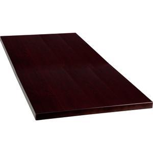 30'' x 60'' Rectangular Mahogany Veneer Table Top