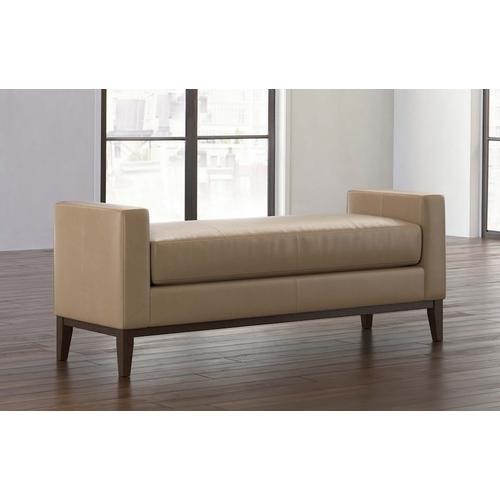 Bassett Furniture - Balfour Leather Bench