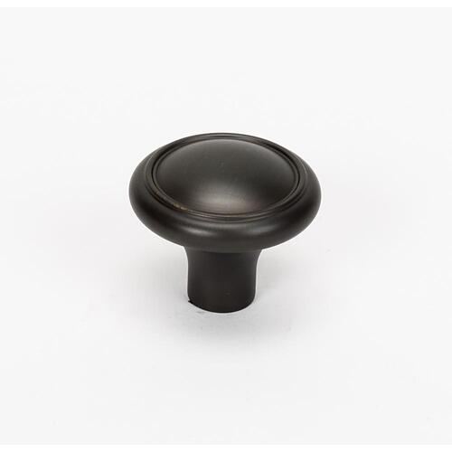Classic Traditional Knob A1562 - Chocolate Bronze