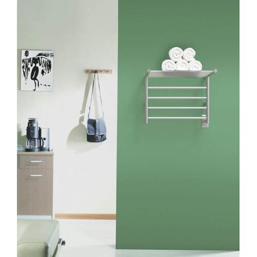 The Radiant Shelf - Polished Stainless