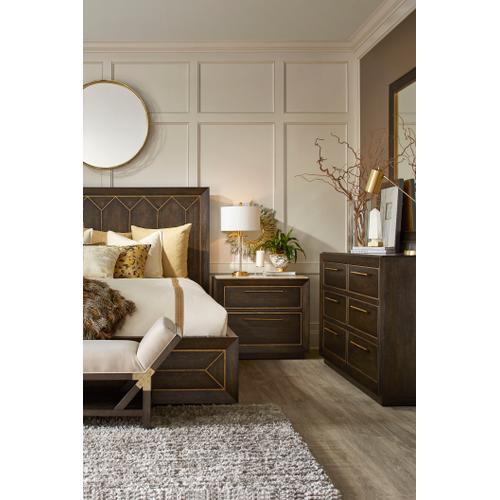 A.R.T. Furniture - Woodwright King Eichler Panel Bed