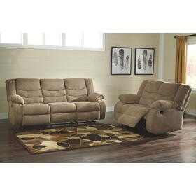 Tulen Reclining Sofa & Loveseat Mocha