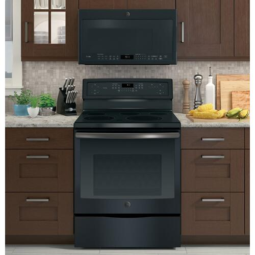 "***DISPLAY MODEL CLOSEOUT (DISCONTINUED COLOR)*** GE Profile™ 30"" Free-Standing Electric Convection Range"