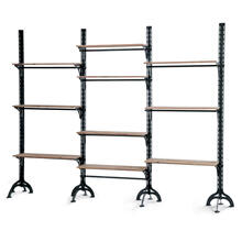 Lfd - Large Ten Shelf Wall Unit