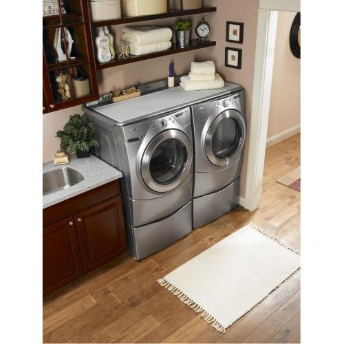 "15.5"" Laundry Pedestal with Storage Drawer Model XHP1550WR"