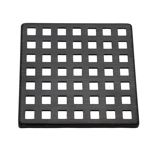 Product Image - Mountain Re-Vive - Select Series Squares Shower Grid - PVD Brushed Bronze