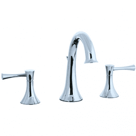 Brookhaven - Hi-Arch Widespread Lavatory Faucet - Polished Chrome