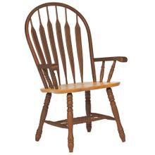 See Details - Comfort Dining Arm Chair - Nutmeg Light Oak