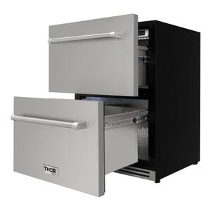 24 Inch Indoor Outdoor Undercounter Refrigerator Drawer