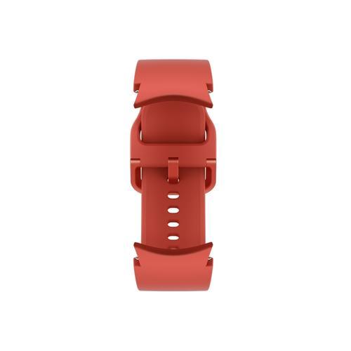 Samsung - Galaxy Watch4, Galaxy Watch4 Classic Sport Band, M/L, Red