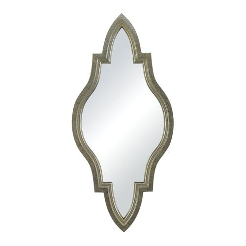 See Details - MIN 2-MOROCCAN INSPIRED MIRROR IN SILVER FRAME