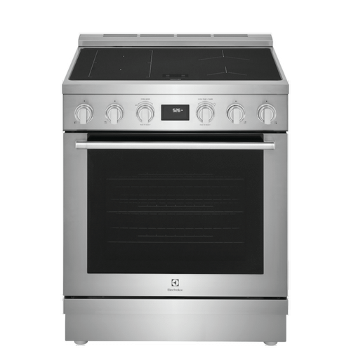 30'' Induction Freestanding Range