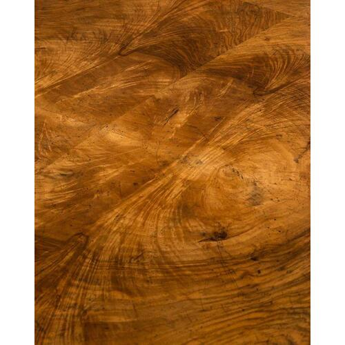 Curved Walnut Desk