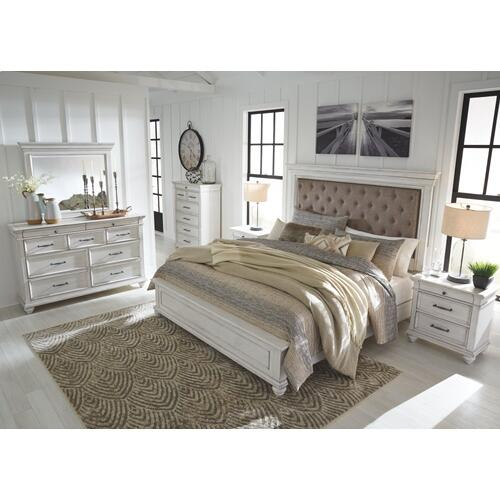 Kanwyn Queen Upholstered Panel Bed