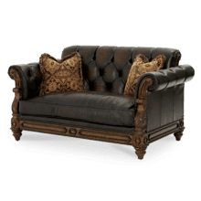 See Details - Leather Loveseat - Opt1