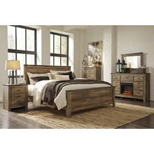 View Product - King Panel Bed With Dresser, Chest and Nightstand